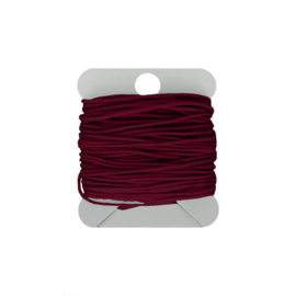 Macramé koord 0.8 mm wine
