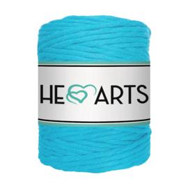 Hearts single twist 5 mm sky blue
