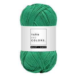 Yarn and color must-have mint