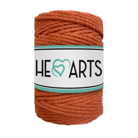 Hearts triple twist 5 mm roest(100 meter)
