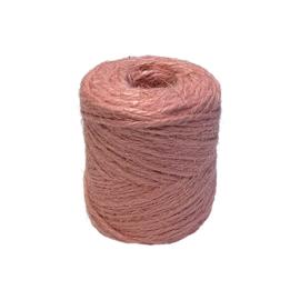 jute koord baby roze  2 mm