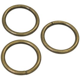 Bronzen ring 35 mm(buitenmaat)