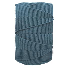 Hearts single twist 4,5 mm peacock (500m)