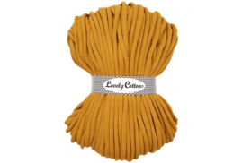 Lovely Cottons 9 mm gevlochten mustard