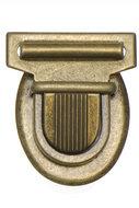 Metalen tassluiting brons