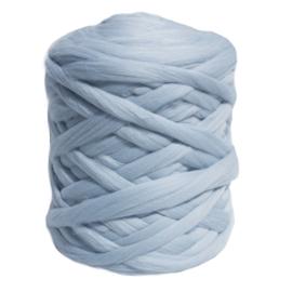 XXL lontwol ice blue