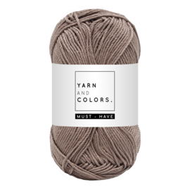 Yarn and color must-have taupe