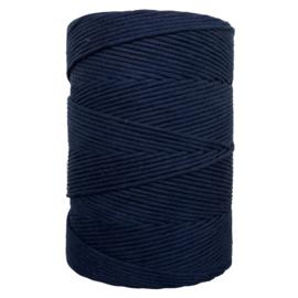 Hearts single twist 4,5 mm dark blue (500m)