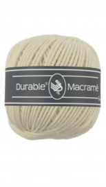 Durable Macrame 2 mm cream