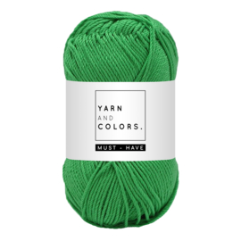 Yarn and color must-have peony leaf