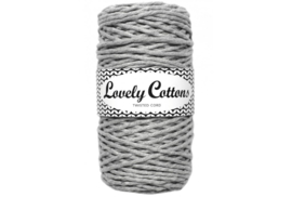 Lovely Cottons twist 3 mm silver