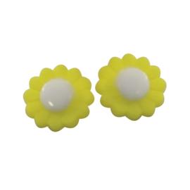 Knoop geel bloemetje