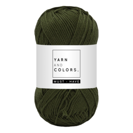 Yarn and color must-have khaki