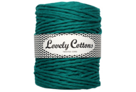 Lovely Cottons single twist 5 mm emerald