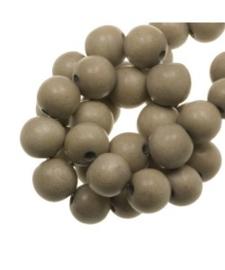 Houten kraal light grey 12 mm