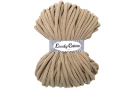 Lovely Cottons 9 mm gevlochten goldbeige