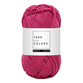 Yarn and color must-have fuchsia