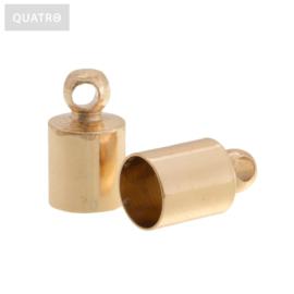 Eindkapje goud 4 mm
