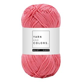 Yarn and color must-have peony pink