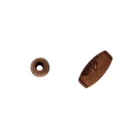 houten kraal bruin