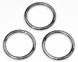 Metalen ring 20 mm