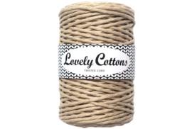 Lovely Cottons twist 3 mm beige