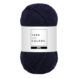 Yarn and colors epic dark blue