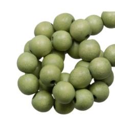 Houten kraal pistachio 12 mm