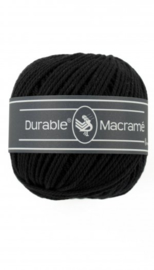 Durable Macrame 2 mm black
