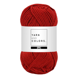 Yarn and colors epic red wine