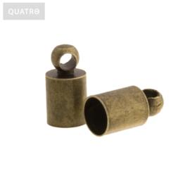 Eindkapje brons 4 mm