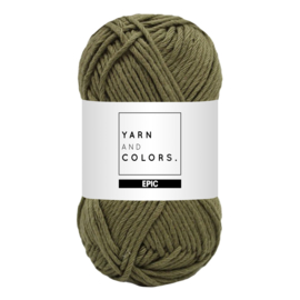 Yarn and colors epic olive
