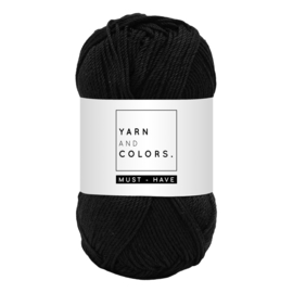 Yarn and color must-have black