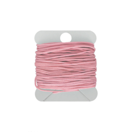 Macramé koord 0.8 mm flamingo
