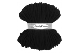 Lovely Cottons 9 mm gevlochten black