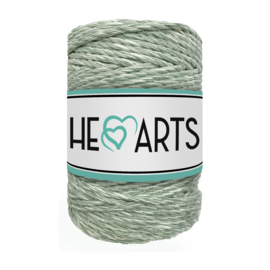 Hearts triple twist 5 mm eucalyptus/ecru(100 meter)