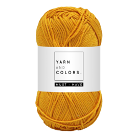 Yarn and color must-have mustard