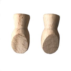 Houten handjes (klein)