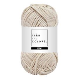 Yarn and colors epic ecru