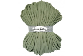 Lovely Cottons 9 mm gevlochten olive