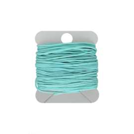 Macramé koord 0.8 mm powderblue