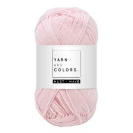 Yarn and color must-have light pink