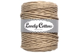 Lovely Cottons single twist 5 mm beige