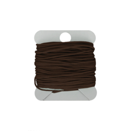 Macramé koord 0.8 mm darkbrown
