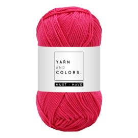 Yarn and color must-have  deep cerise