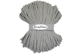 Lovely Cottons 9 mm gevlochten grey