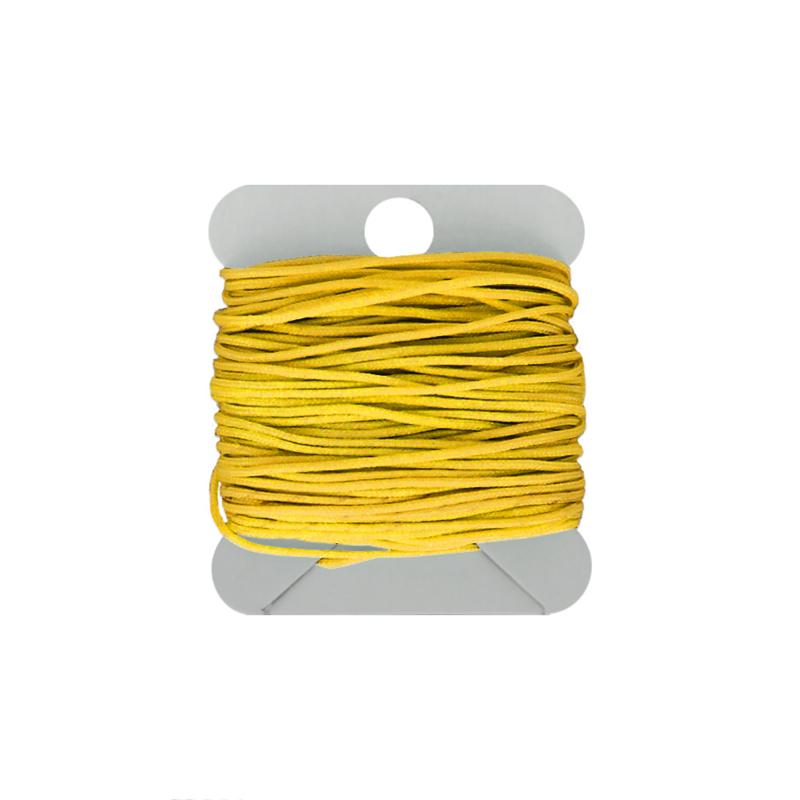 Macramé koord 0.8 mm yellow