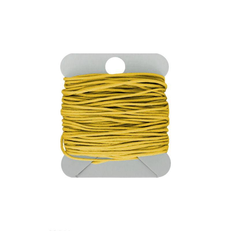Macramé koord 0.8 mm lemon