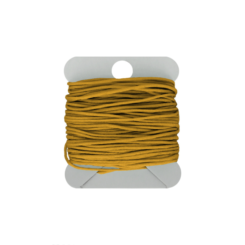 Macramé koord 0.8 mm oker yellow