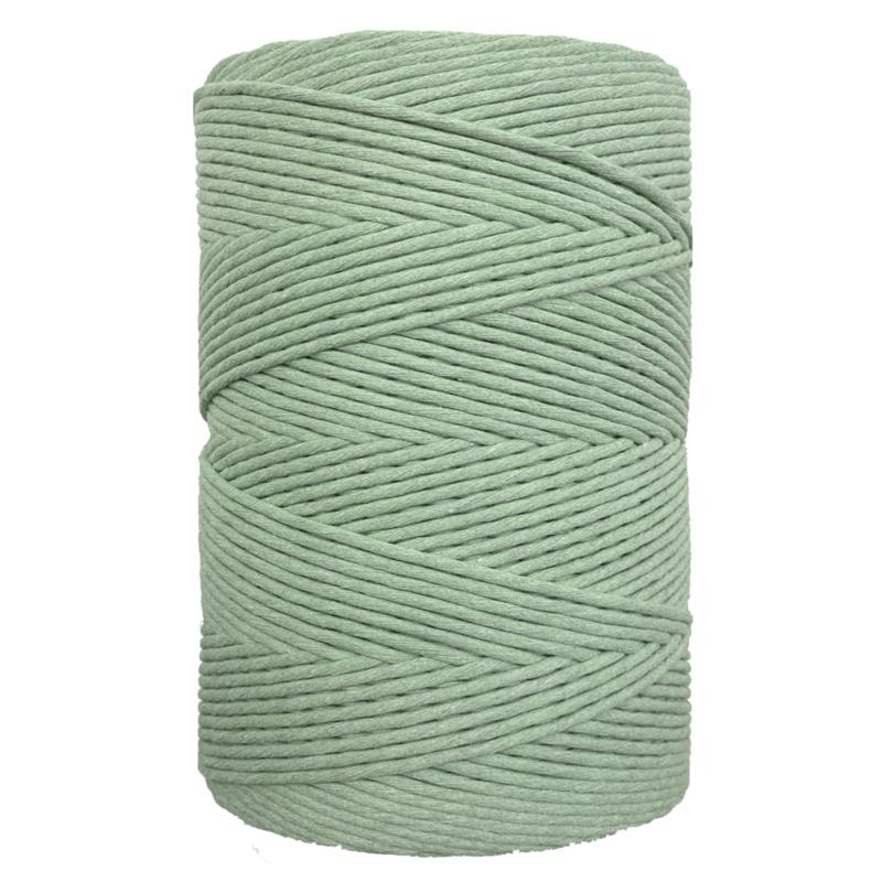 Hearts single twist 4,5 mm vintage green (500m)